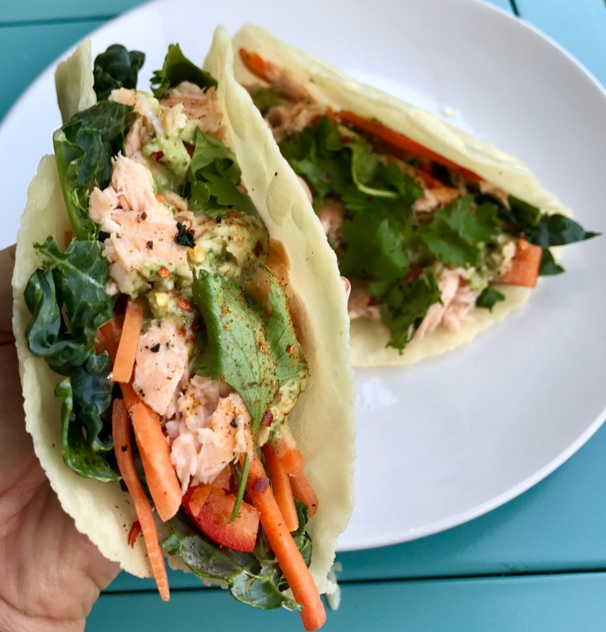 Taco 'bout a recipe: Salmon tacos!