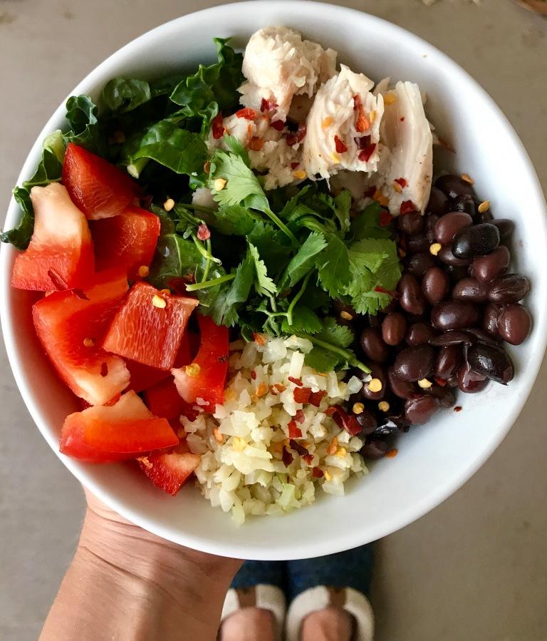 Recipe: Healthy Mexi-bowl